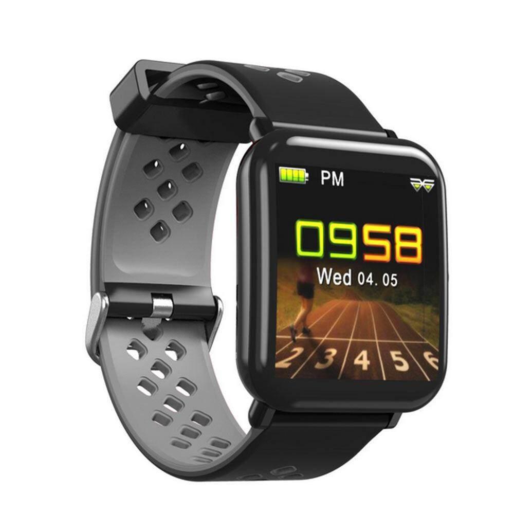 W & R Đồng Hồ Thông Minh, Thông Minh Theo Dõi, IP68 Chống Nước Theo Dõi Sức Khỏe, băng Đeo Tay thể thao với Máy Đo Nhịp Tim, Bluetooth 4.0 Theo Dõi Hoạt Động Vòng Tay Thông Minh Dây Đo Quãng Đường Đi cho Android/IOS