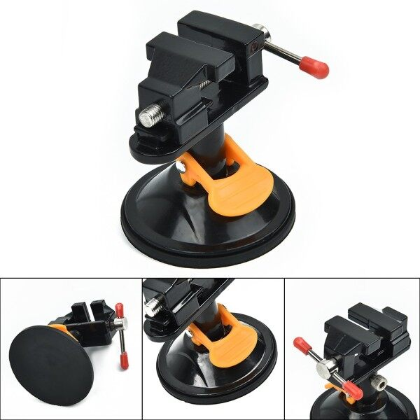 Model maker Bench Vise 360 Degree Suction Craft Jewelers Clamp Workshop Tool Assembly Parts