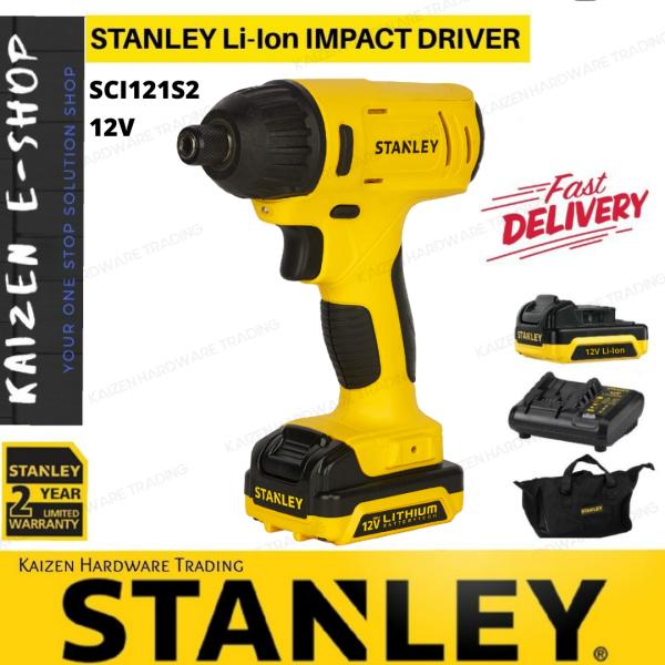 STANLEY SCI121S2  Li-Ion 12V IMPACT DRIVER