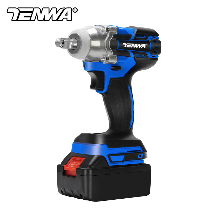PROSTORMER TENWA Brushless Electric Wrench Impact Wrench Socket Wrench 21V 4000mAh Li Battery Hand Drill Installation Power Tools