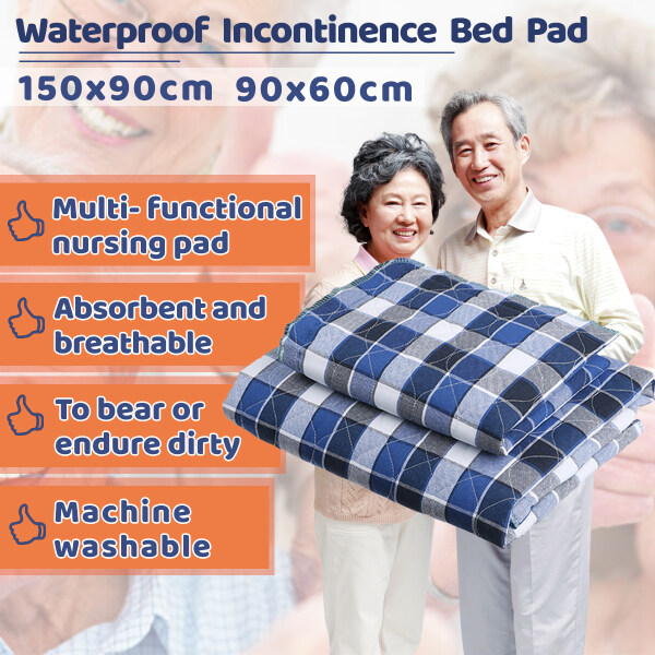 Buy 35 x 59 Absorbent Adult Incontinence Bed Pad Waterproof Washable Pee Underpad Singapore