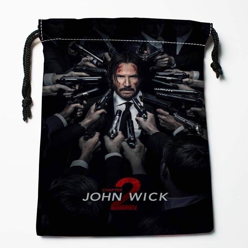 ขนาด 35x45 ซม. John Wick กระเป๋าสตางค์ที่กำหนดเองกระเป๋าเก็บถุงของขวัญพิมพ์ลาย Diy รูปภาพของคุณสไตล์ 1 By Yau Maker.