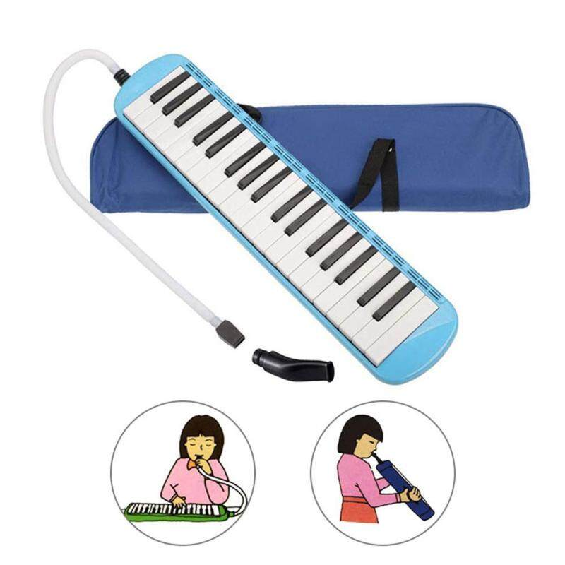 OrzBuy KS-37 37 Key Harmonica Melodica Teaching Instrument For children, Come With Mouthpiece Air Piano Keyboard,Carrying Bag Malaysia