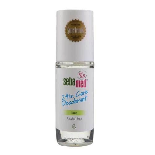 Sebamed Deodorant 24 hour Roll On Lime
