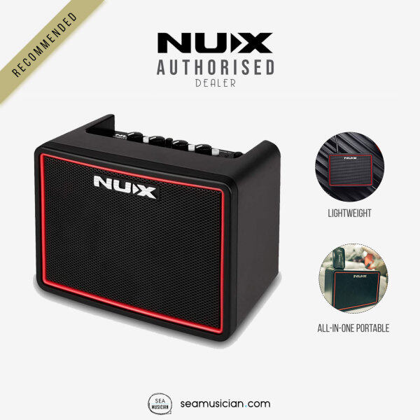 NUX NGA3 MIGHTY LITE BT MINI MODELING GUITAR AMP WITH BLUETOOTH BUILT IN (NGA 3/ GUITAR DIGITAL AMPLIFIER/ SEAMUSICIAN) Malaysia