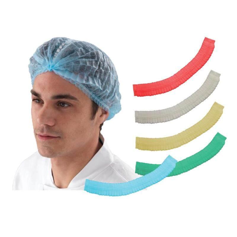 100s Colourful Disposable Mob Cap / Hair Net