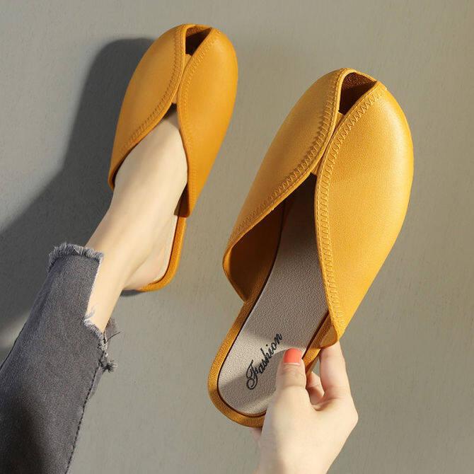 Weakleague Giản Dị Dép Đi Trong Nhà Cho Phụ Nữ Dễ Thương Giày Bệt Thời Trang Hàn Quốc Ngoài Trời Xăng Đan Đế Bệt Filp Flop Trượt Sandal Dép Lê Đi Trong Nhà Giày Lười Hàn Quốc Cho Phụ Nữ Cô Gái 041010 giá rẻ