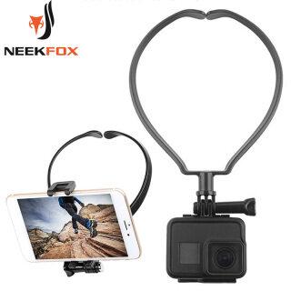 Dây Đeo Vòng Gắn Giữ Cổ Cho GoPro 8 7 6 5 4 3 + 3 2 1 Xiaomi Yi 4K SJCAM Camera Hành Động Thể Thao Sj4000 EKEN H9 R Phụ Kiện thumbnail