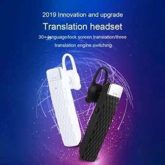 T2 สมาร์ท Voice Translator ชุดหูฟังบลูทูธ 33 ภาษา Instant Translate Bluetooth5.0 หูฟังไร้สาย Real-time-