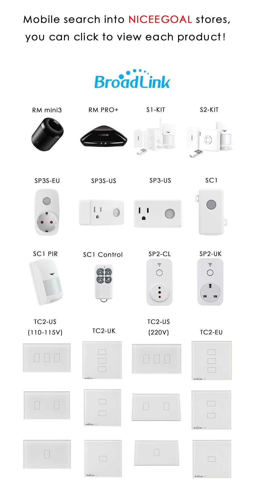 Niceegoal Bản gốc Broadlink RM Mini 3 Điều khiển từ xa không dây WiFi + IR  + 4G Điều khiển