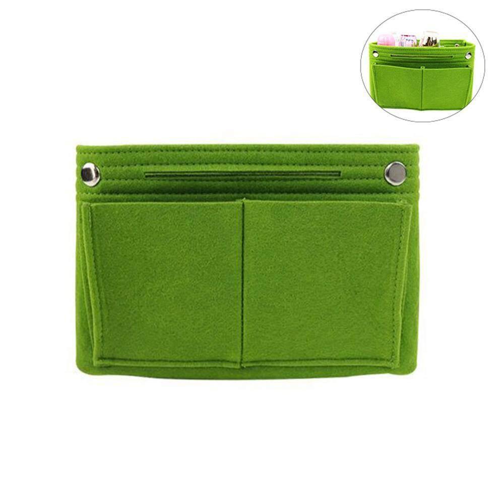 b958a93de8cb SilyNew Multi-function Felt Fabric Storage Bag Multi-pocket Felt Cloth  Travel Cosmetic Bag