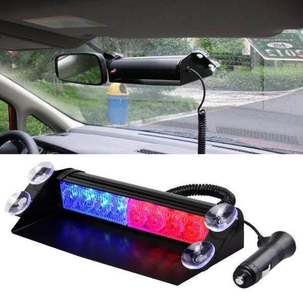 Đèn Nháy Khẩn Cấp Cho Xe Tải Ô Tô, Đèn Cảnh Báo Đèn Led Cảnh Sát Chạy Ban Ngày 8 Đèn LED 3 Chế Độ Nhấp Nháy 12V