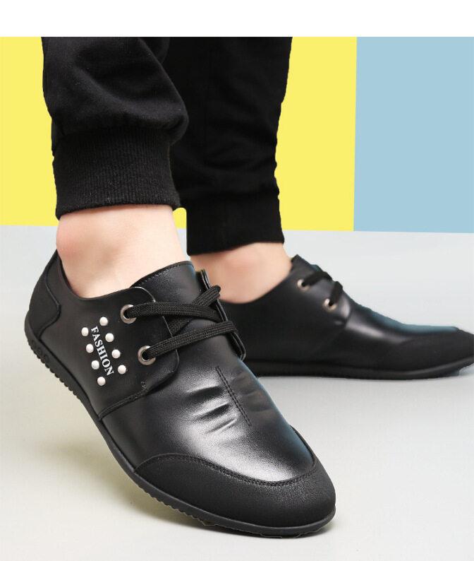 Giày Lái Xe Bằng Da Cho Nam, Giày Thường Ngày Bề Mặt Mềm Đi Mùa Hè Cho Giới Trẻ giá rẻ