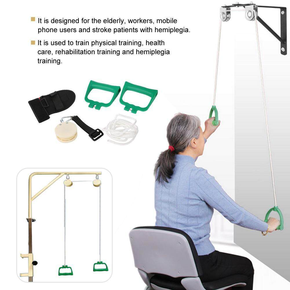 Shoulder Rehabilitation Training Kit Exercise Pulley Trainer Home Use