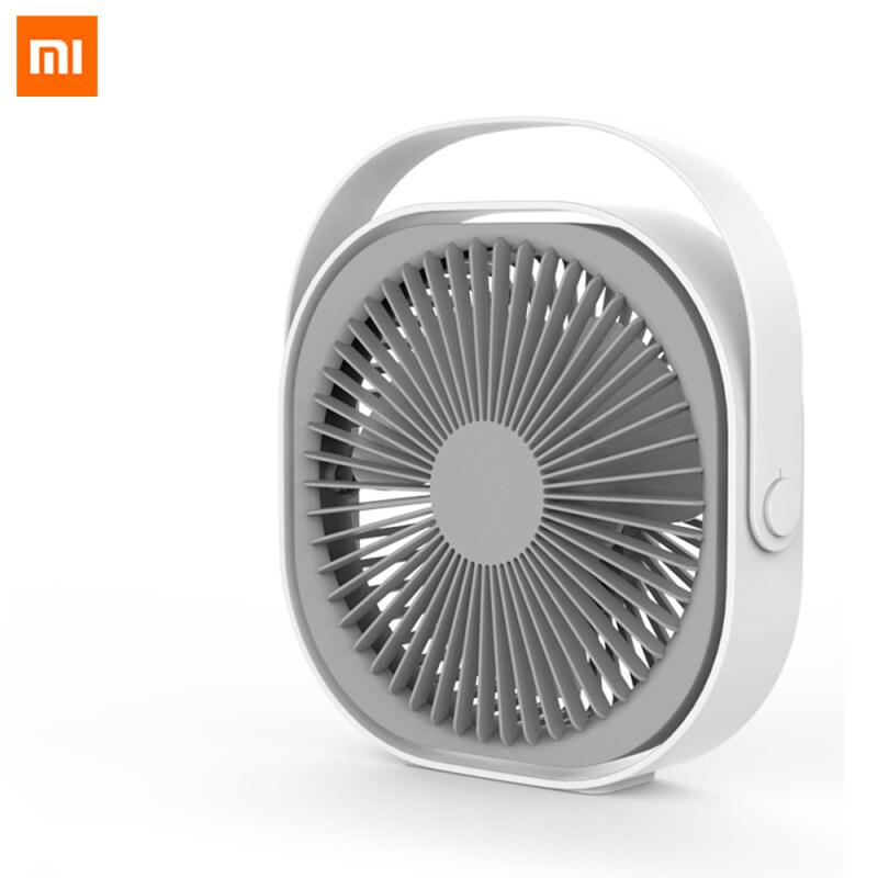 Xiaomi Mijia Qualitell Quạt điện mini gió mạnh có thể xoay 360 độ điều chỉnh hướng gió xoay theo chu kì không gây tiếng động phù hợp sử dụng trong gia đình/ văn phòng/ khi ngồi máy tính thiết kế nhỏ gọn dễ dàng di chuyển - INTL