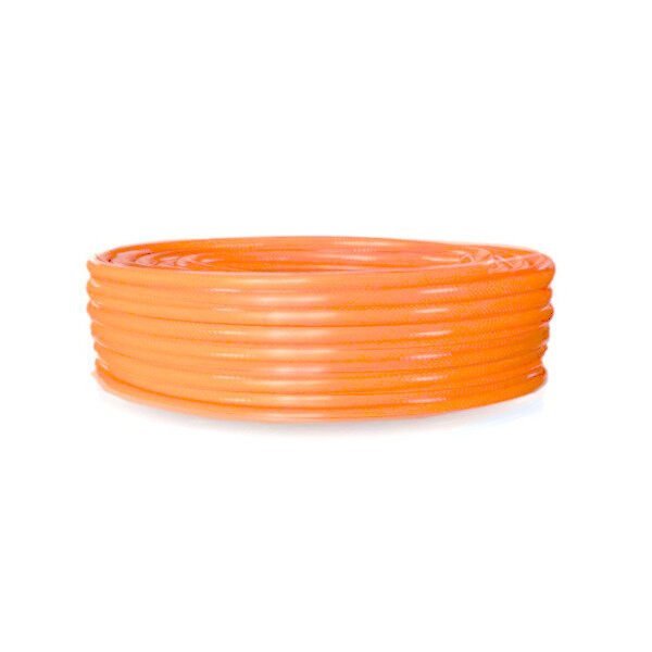 Deer Premium Water Hose Garden Hose Lawn PVC Pipe 10 Meters 2.3mm Thickness 16mm Diameter Suitable for Gardening Camping Agriculture Construction Site Food Industry Farm Garage (Orange)