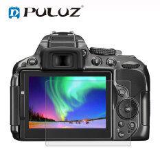 PULUZ Kính Cường Lực Bảo Vệ Màn Hình Cong 9H Cạnh Cong 2.5D Dành Cho Nikon D5300 D5500 D500 D600 D610 D7100 D7200 D750 D800 D810 Z6 Z7
