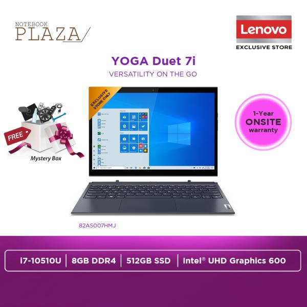 Lenovo Yoga Duet 7 13IML05 82AS007HMJ 13.3 WQHD Touch Laptop Slate Grey ( i7-10510U, 8GB, 512GB SSD, Intel, W10 ) Malaysia