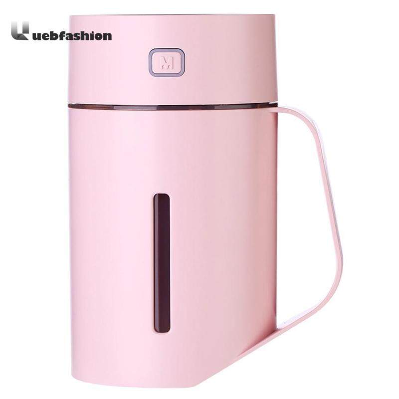 420ml Ultrasonic Air Humidifier Cup Aroma Essential Oil Diffuser with LED Singapore