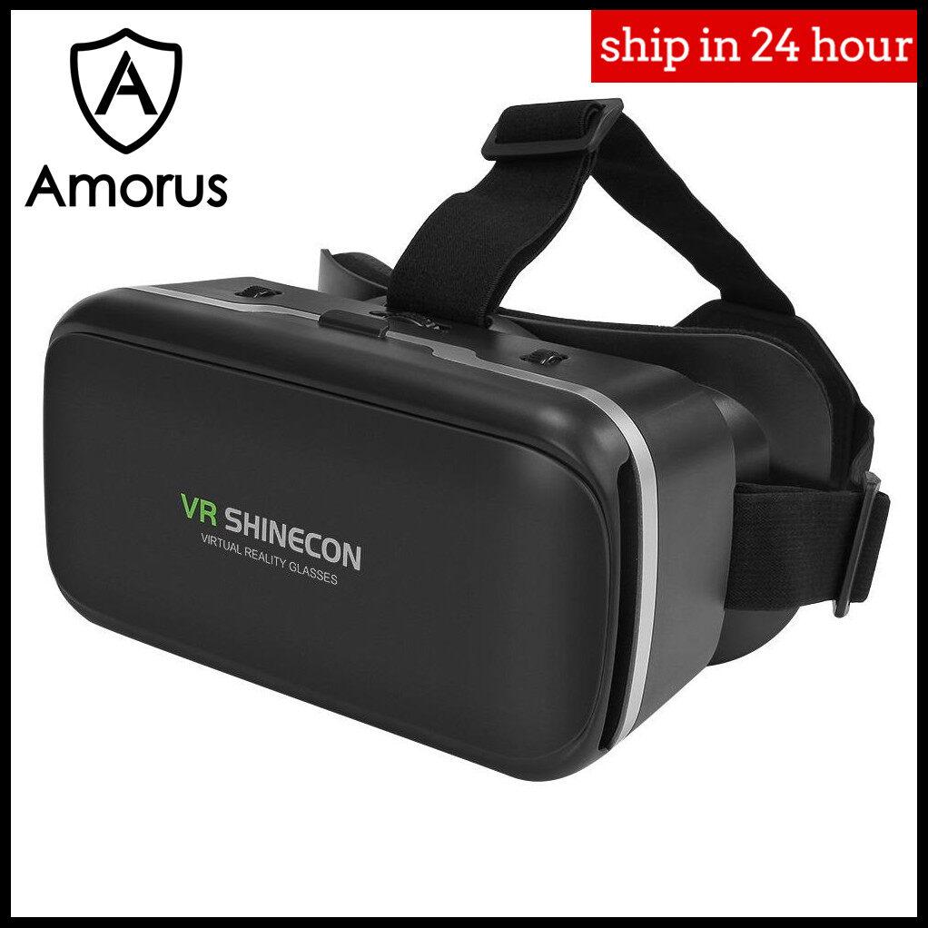 Amorus Shinecon 6 รุ่น G04 3d Imax หน้าจอแว่น Vr ชุดหูฟังเสมือนจริงสำหรับ 4.0-6.0 โทรศัพท์นิ้ว.