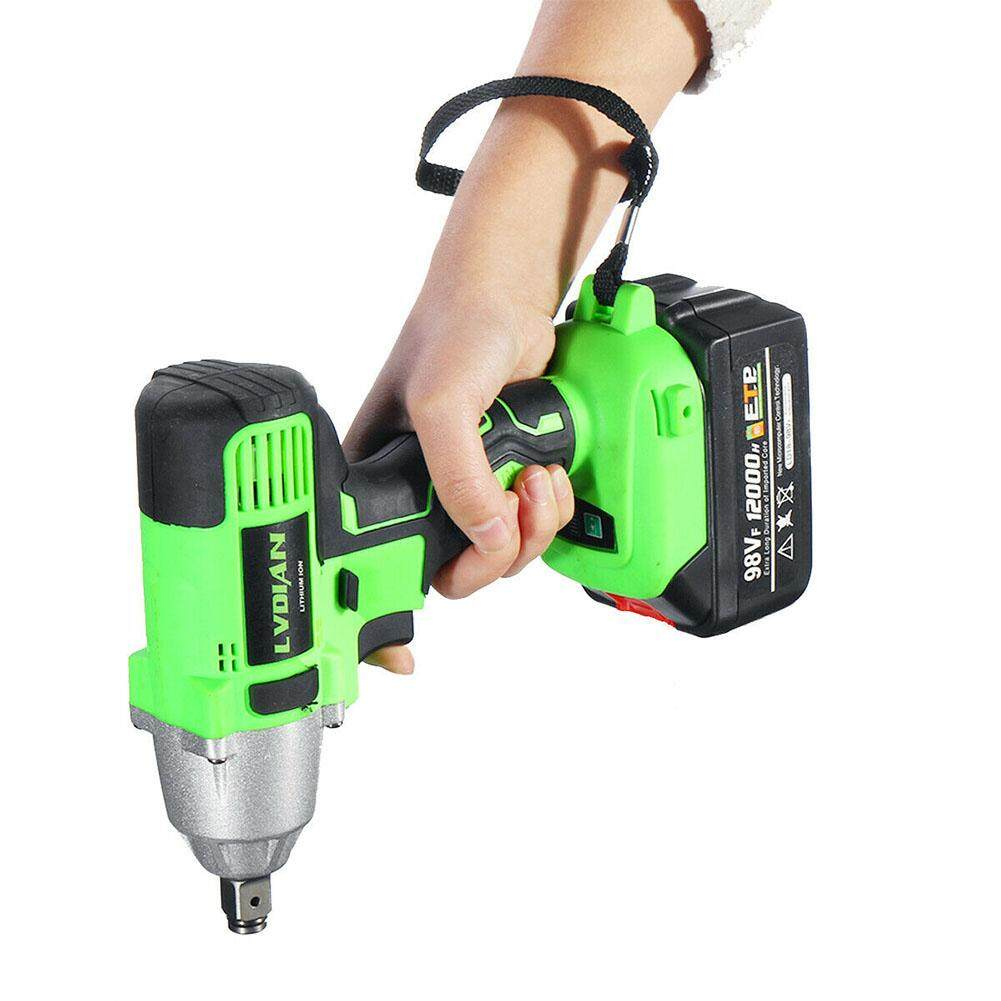 Waterproof Multifunctional Brushless Punching Rechargeable Auto Repairing Practical Cordless Impact Wrench