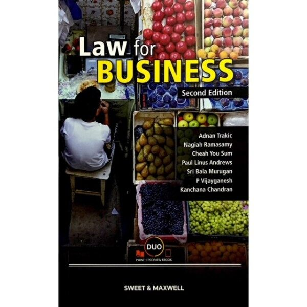 Law for Business Textbook 2nd Edition Malaysia