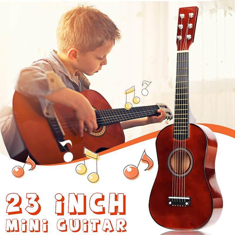 23 Inch 6 Dây Đàn Bồ Đề Cà Phê Mini Trẻ Em Buổi Hòa Nhạc Acoustic Đàn Ukulele Guitar Nhạc Cụ Cho Con Người Yêu Âm Nhạc Quà Tặng