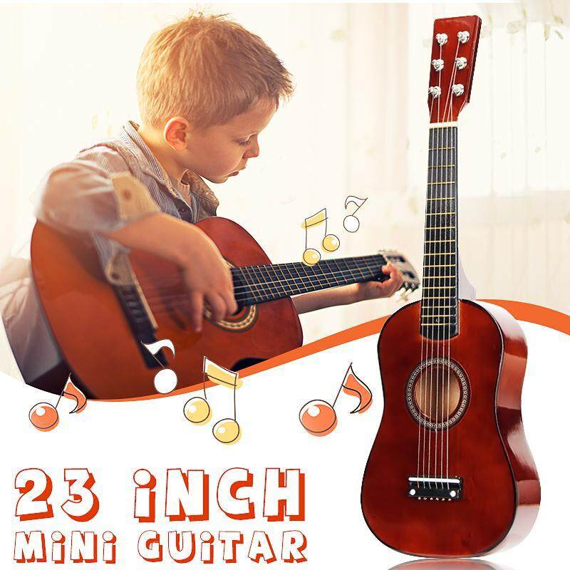 23 6 String Beginners Kids Basswood Acoustic Guitar Children Student Gift Malaysia