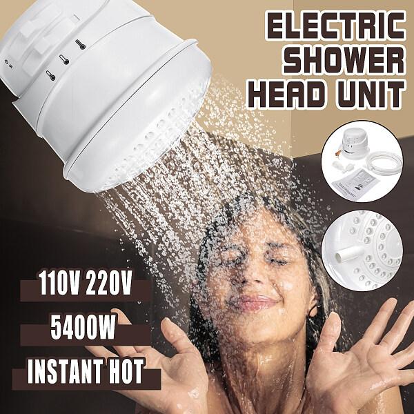 Bảng giá Máy Nước Nóng Tức Thì Chạy Điện 5400W 110V/220V Dụng Cụ Tắm Đầu Vòi Hoa Sen Phòng Tắm Điện máy Pico