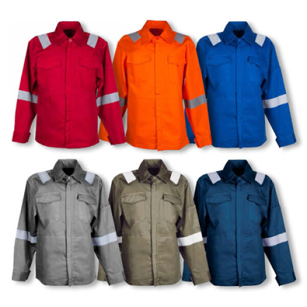 Size S - 3XL PPE Safety Jacket Workwear with  Zip & Reflector. (Ready Stock- Exclusive work jacket)