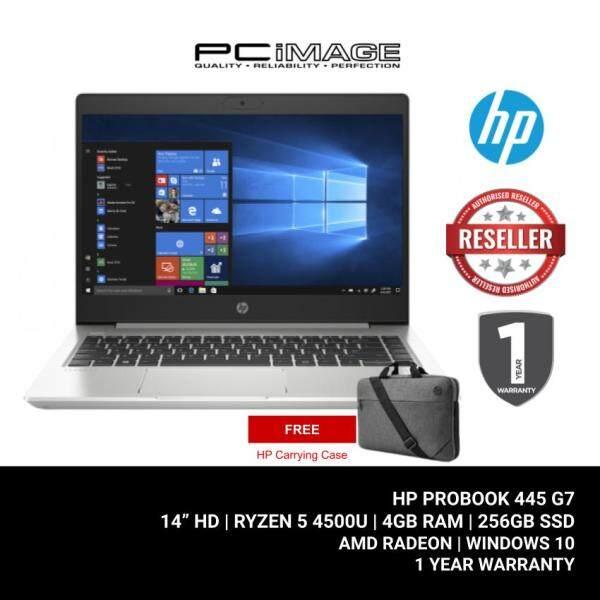 HP Probook 445 G7 2X8Y8PA 14 Laptop/Notebook (Ryzen 5-4500U, 4GB, 256GB, AMD Radeon, W10) Malaysia