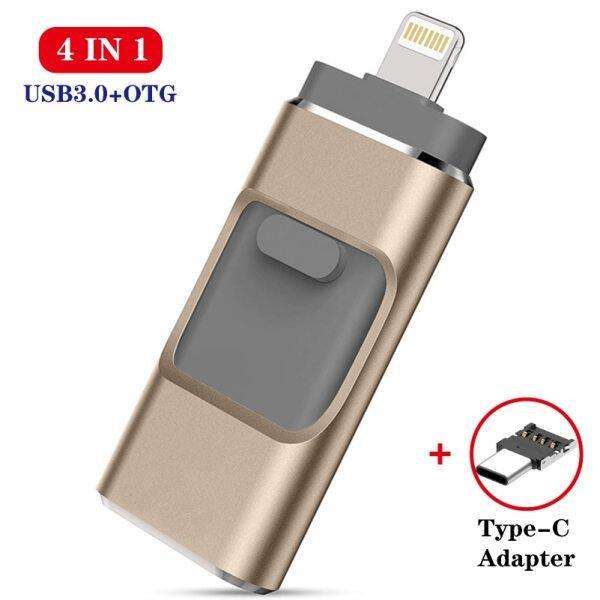 Bảng giá ♥COD + Ổ USB Flash Chính Hãng 100%, Ổ Cứng USB 3.0 128G Thẻ Nhớ Dành Cho iPhone Xs Max X 8 7 6 iPad 8/16/32/64/128 256GB Ổ USB Gắn Chìa Khóa MFi Phong Vũ