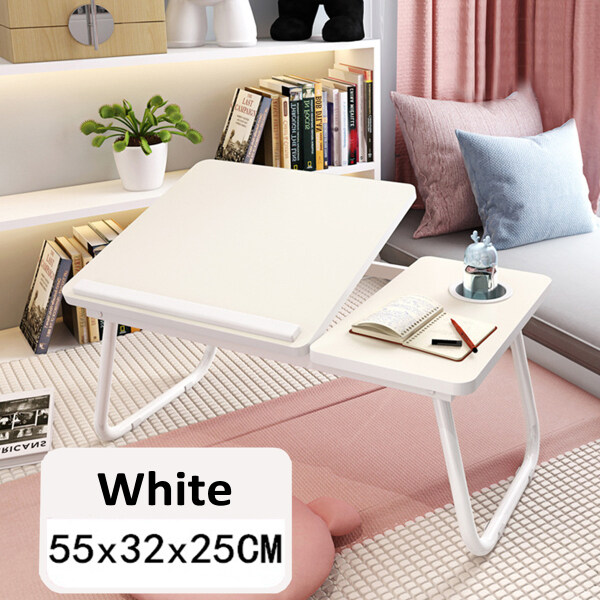 Bảng giá Foldable Laptop Desk 45° Adjustable Portable Table Lazy Bed Tray 55x32x25cm Phong Vũ