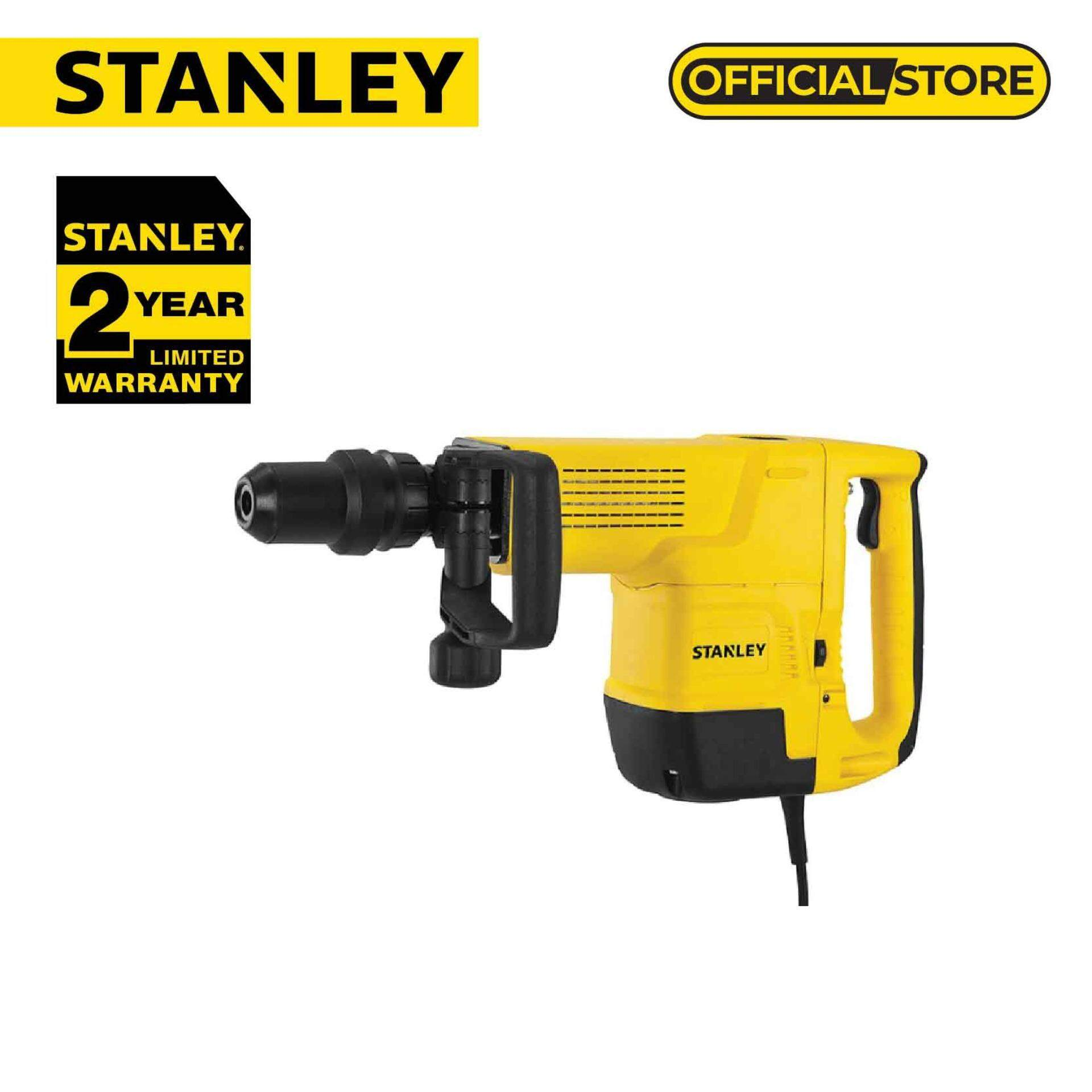 Stanley STHM10K XD-10kg SDS Max Demolition Hammer (Yellow)