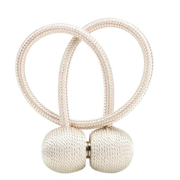 Magnetic Pearl Ball Curtain Strap Brief Curtain Buckles Tie Backs Curtain Decorative Accessories