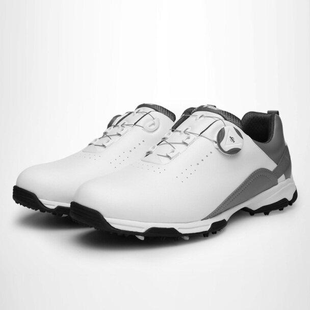 Giày Golf Nam PGM Dành Cho Nam Và Nam Cho Thể Thao, Giày Thể Thao Cho Môn Thể Thao Golf, Dây Giày Chống Trượt, Chống Thấm Nước, Tự Động Xoay giá rẻ