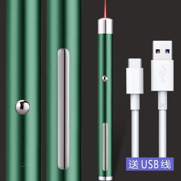 USB rechargeable green laser flashlight red light sand table sales pen laser green outside light gypsophila pointer