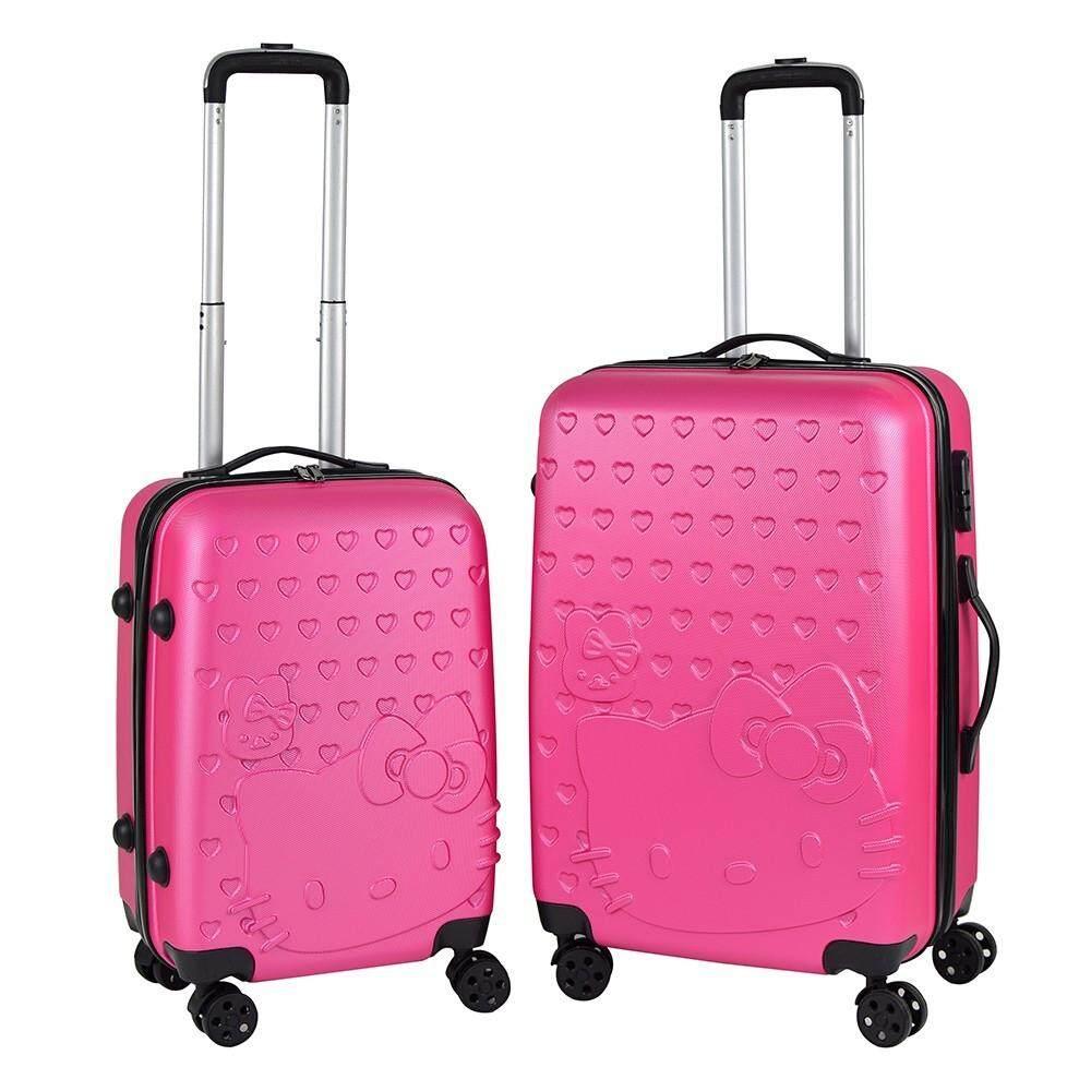 06fbba4aad50 Hello kitty Luggage 2IN1 set 20 inch + 24 inch