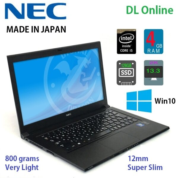 LAPTOP NOTEBOOK SUPER NIPIS DAN SANGAT RINGAN ( NEC JAPAN ) CORE I5 4TH GEN,SSD128GB,HDMI,USB 3.0 , IMPORT REFURBISHED Malaysia