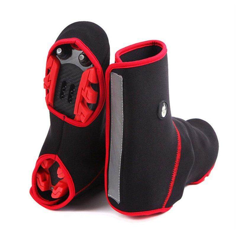 WAKE WOSAWE Winter Cycling Shoe Cover Waterproof Windproof Overshoes Boot Cover