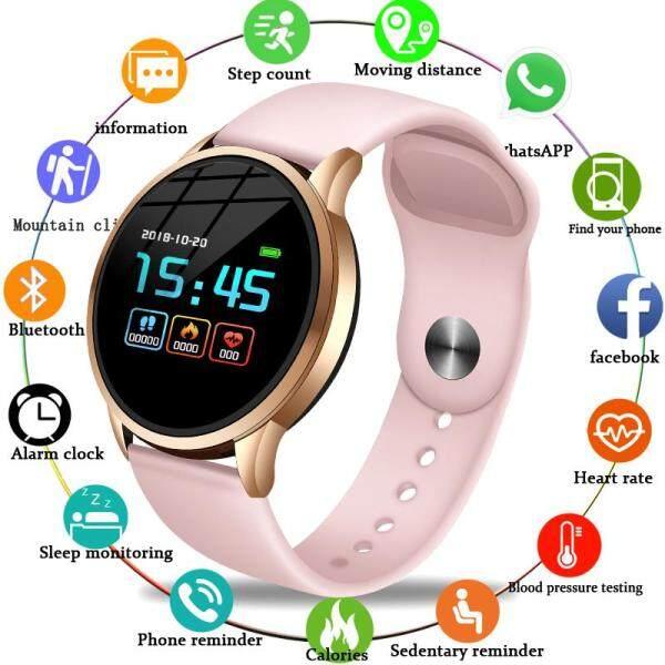 LIGE Men Smart Watches Women Fitness Tracker Smart Bracelet Heart Rate Blood Pressure Health Monitor Sport Jam Pintar For Android IOS Jam Tangan Malaysia