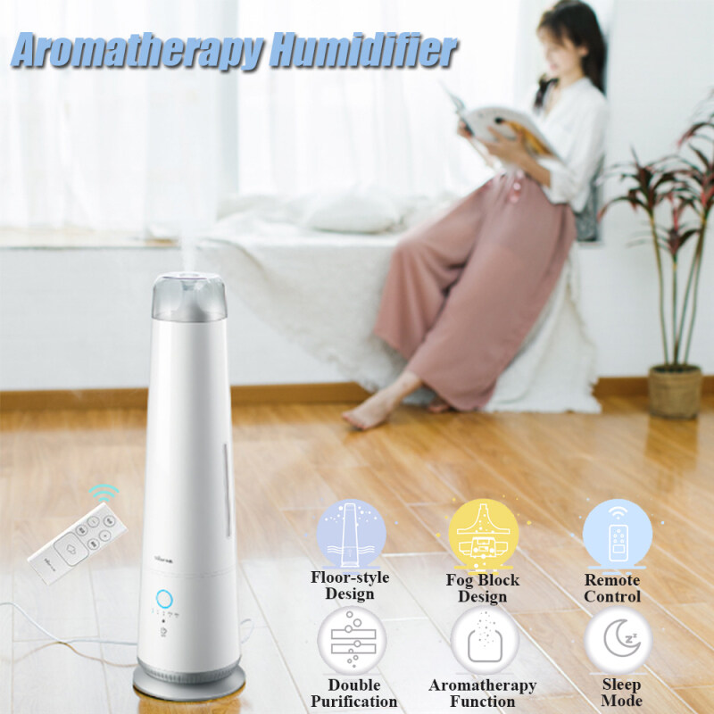 Bear 4.5L 30W Standard Aromatherapy Humidifier Remote Control Double Purification Humidifier Air Purifier Singapore