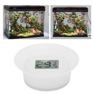 Nhiệt Kế Nước Với Màn Hình LCD Cho Bể Cá Aquarium Ướt Và Khô Hai Công Dụng thumbnail