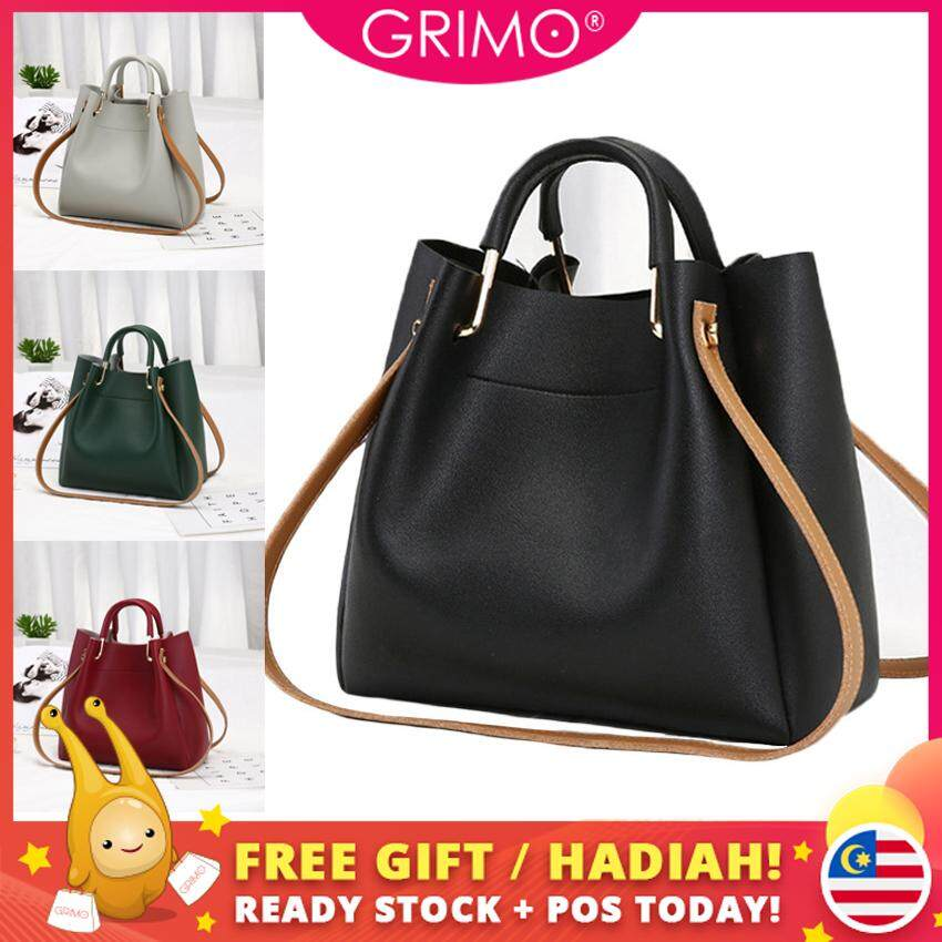 8e6267d38 GRIMO Malaysia - Bulkee Shoulder Bag Handbag Women Tote Sling Bags Cute Beg  Tangan Women Ladies