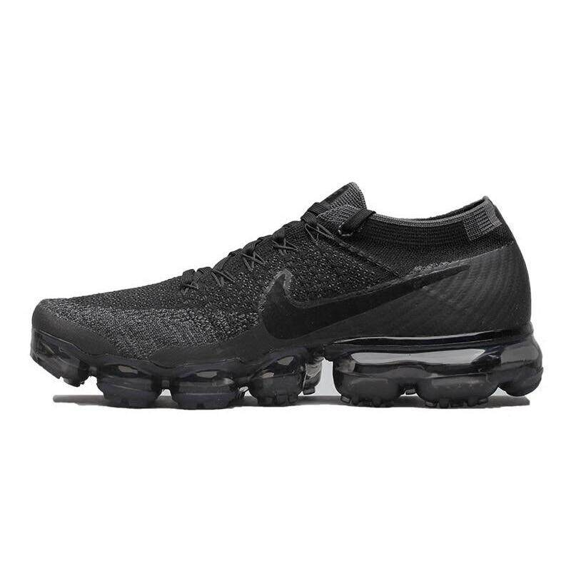 8ae6a3ecf357fd Nike Air VaporMax Be True Flyknit Breathable Men s Running Shoes Outdoor  Sports Sneakers Low Top Athletic