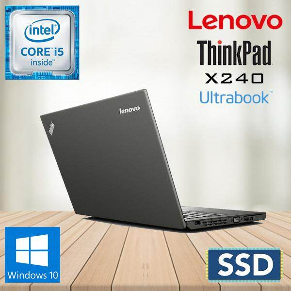 LENOVO THINKPAD X240 CORE I5 / 4GB RAM / 240GB SSD / W10PRO [ 1 YEAR WARRANTY ] Malaysia