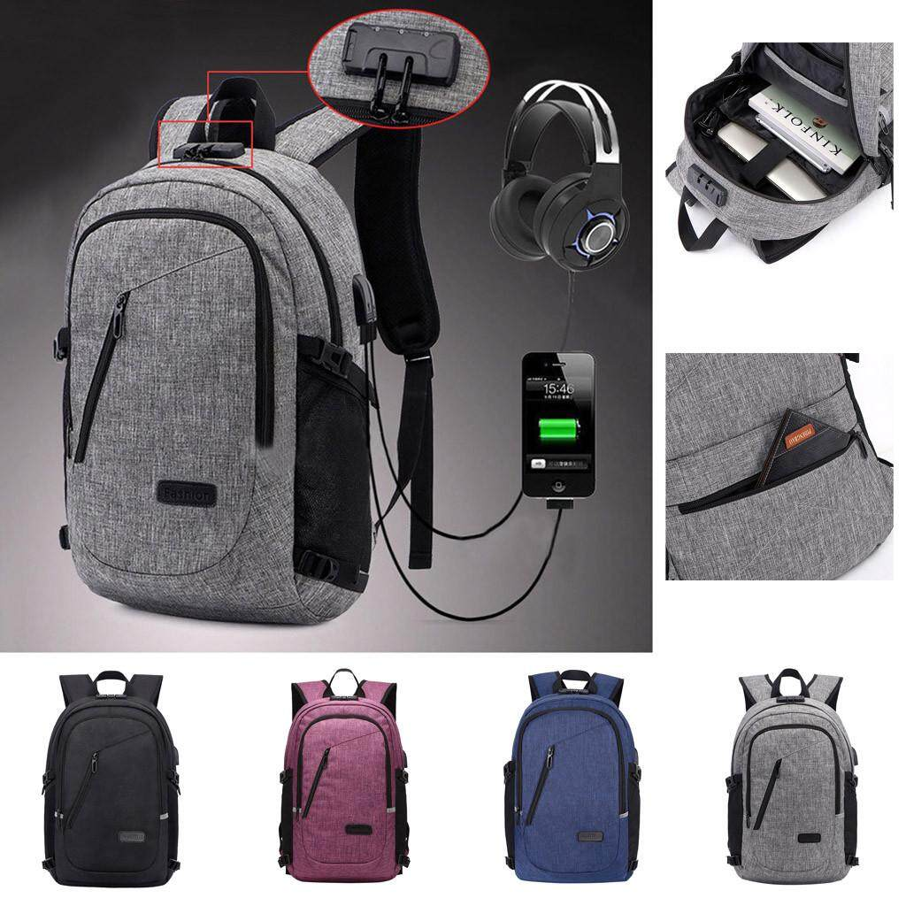 ◆Cod Traveling Anti-Theft School Bookbag with USB Charging Port for Men and Women Free Shipping