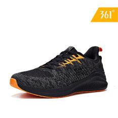 Giày sneaker nam chất liệu lưới đan siêu nhẹ hợp thời trang thích hợp đi bộ đường dài chạy 361 Degrees