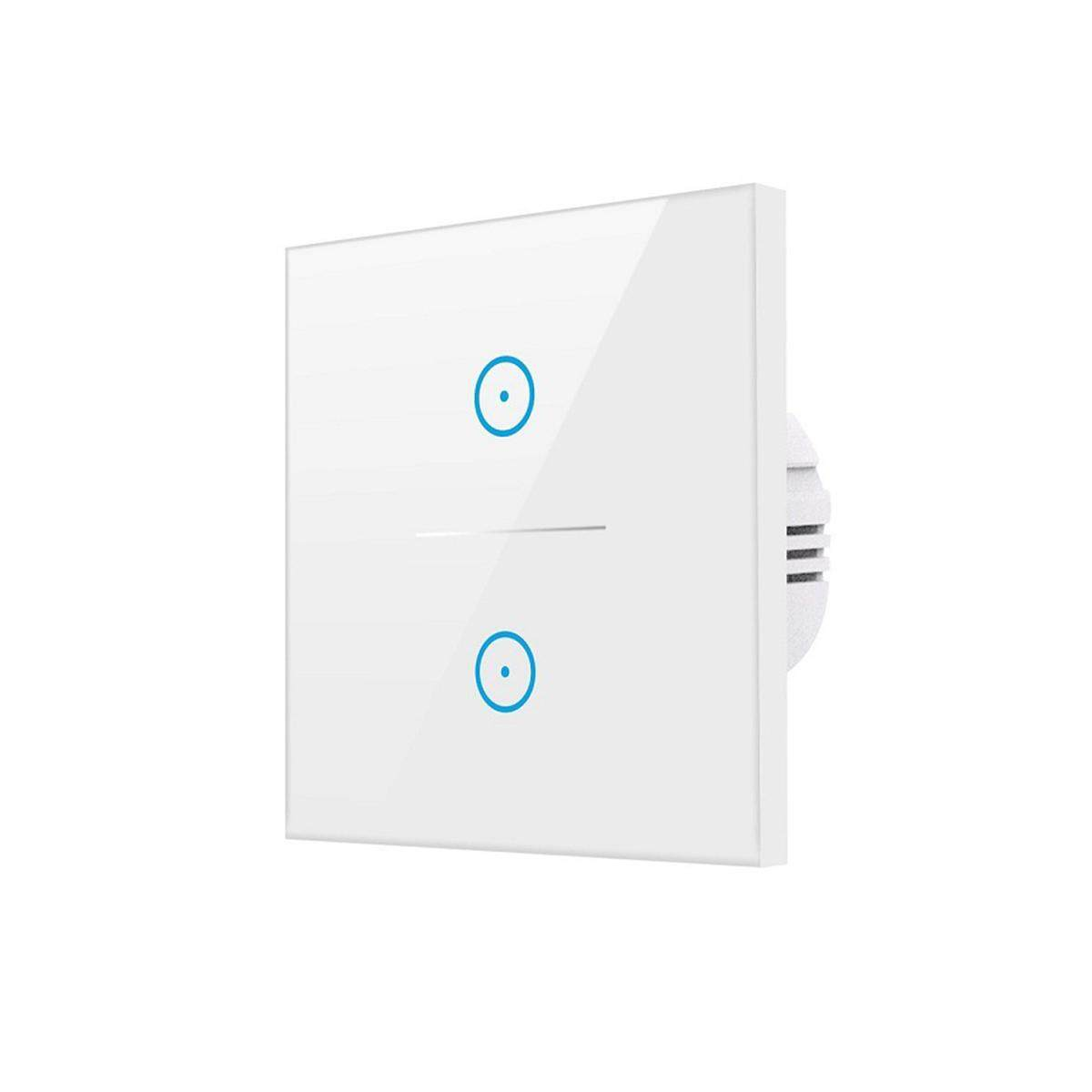 1/2/3 Gang Smart WiFi Touch Switch Wall Retome Control Light 100V- 240V --- 2 Gang