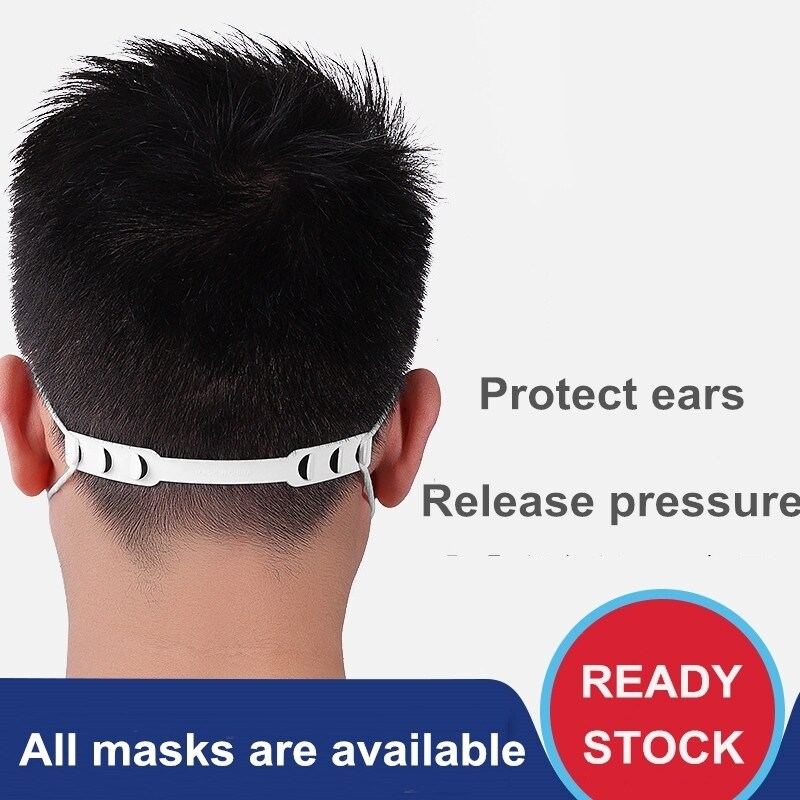 🔥Malaysia Ready Stock🔥 5pcs Adjustable Non-slip Face Mask Ear Hook Buckle Fixer Mask Holder Ear Extension Buckle Protector